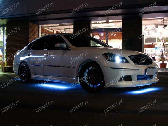 LED Strip Light Underbody Undercar Kit & 7-Color LED Underbody Kit - LED Undercar Lights - Under Car LED Lights azcodes.com